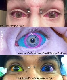 tatuaje en los ojos